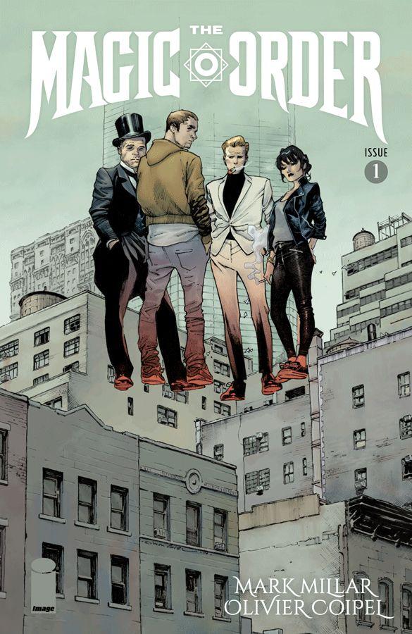 The Magic Order Netflix Comic Book