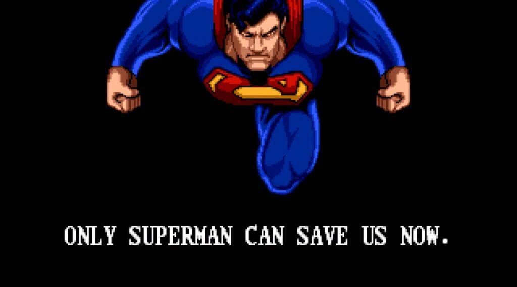 sega genesis The Death And Return Of Superman