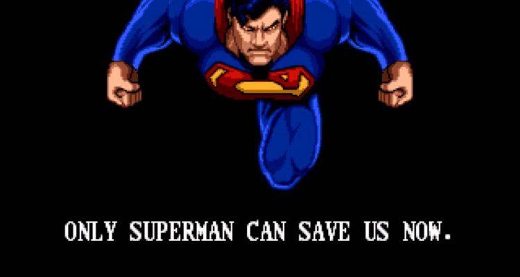 sega genesis The Death And Return Of Superman