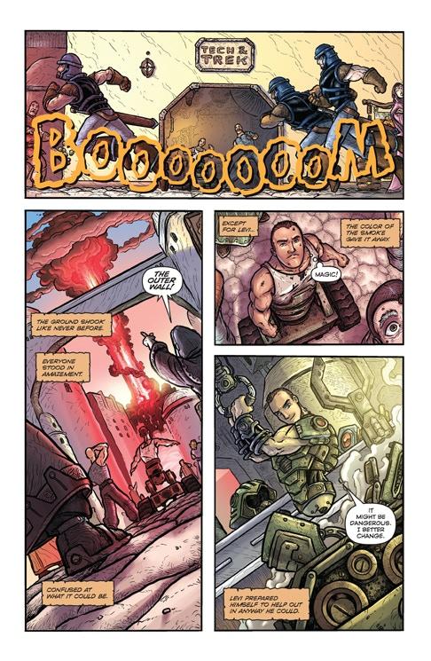Defenders of Eden #1 Comic Book