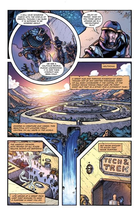 Defenders of Eden #1 Review Comic Book