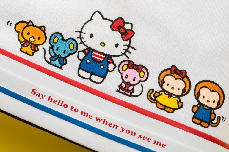 After months of teasing the upcoming collaboration, the wait is finally over. Converse has teamed up with pop culture icon, Hello Kitty for the Converse X Hello Kitty range