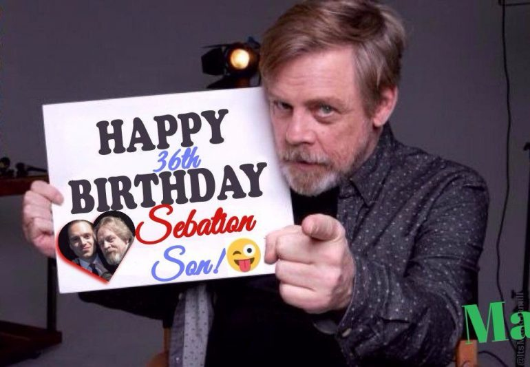 Mark Hamil Sends Sebastian Stan Hilarious Birthday Message