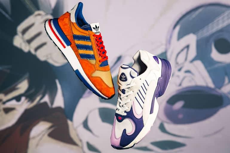 Riego frágil cubierta  The First adidas Originals X Dragonball Z Sneakers Finally Drops