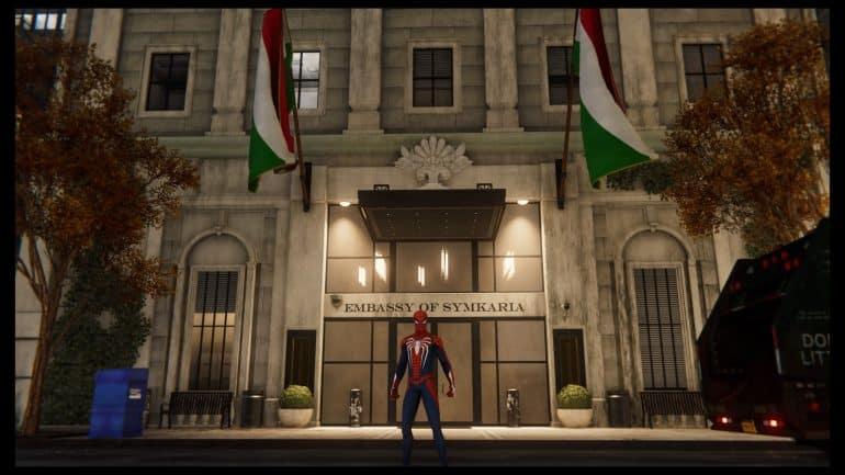 Spider-Man - Symkaria Embassy