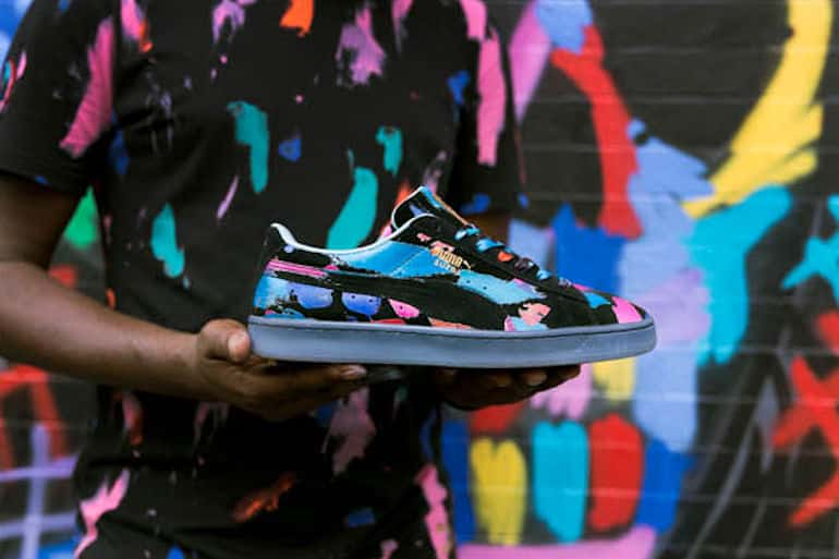 PUMA X Bradley Theodore Brings Street Art To Life With Suede 50