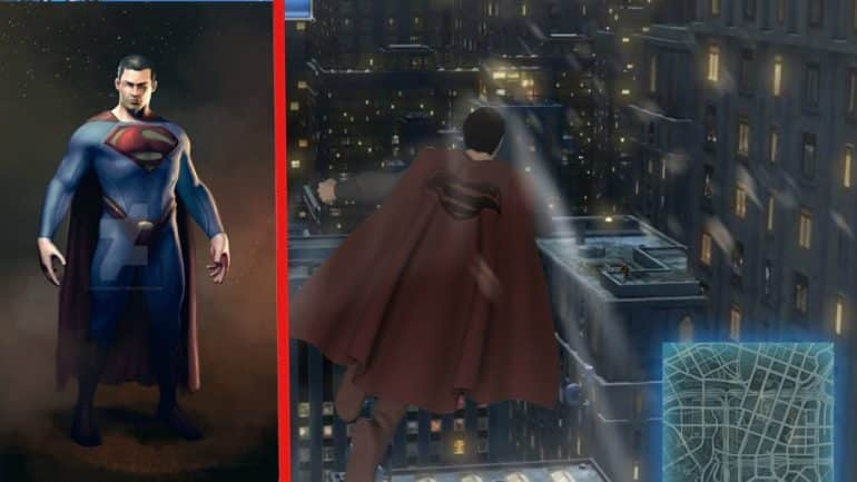 Cancelled Superman Game