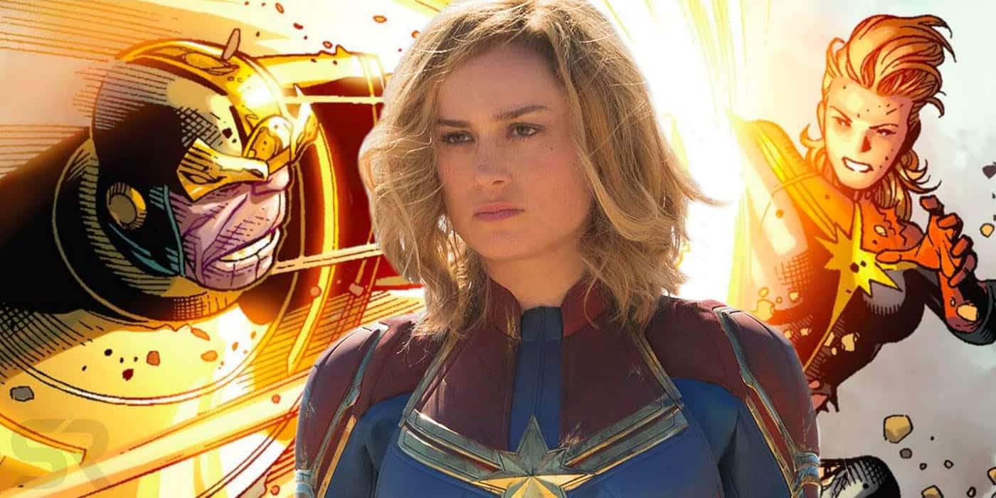 Thanos Shattered A Moon But Captain Marvel Can Move Planets