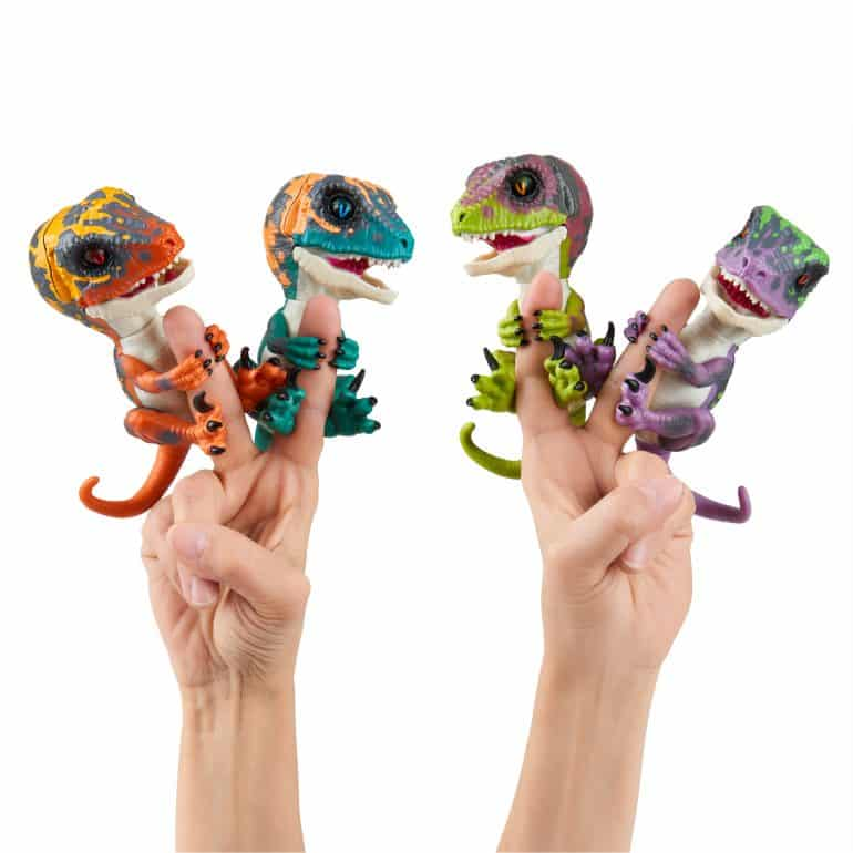 Untamed Dino Velociraptor Fingerlings