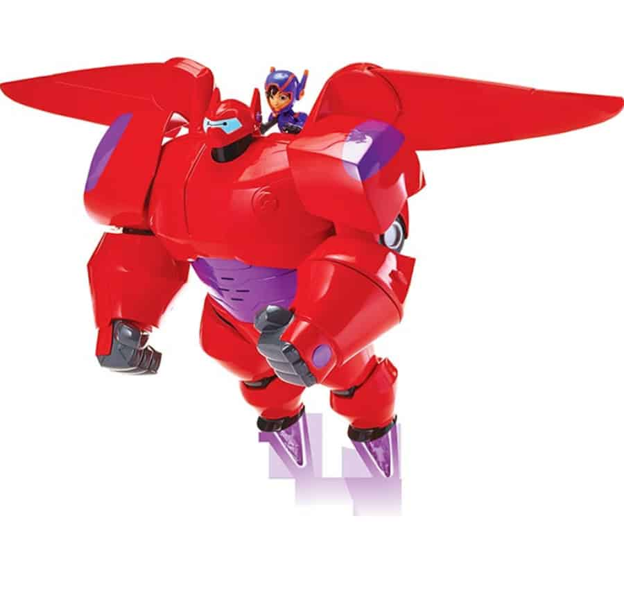 Flame-Blast Flying Baymax