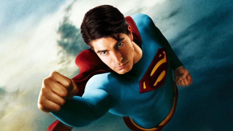 Brandon Routh Superman Henry Cavill