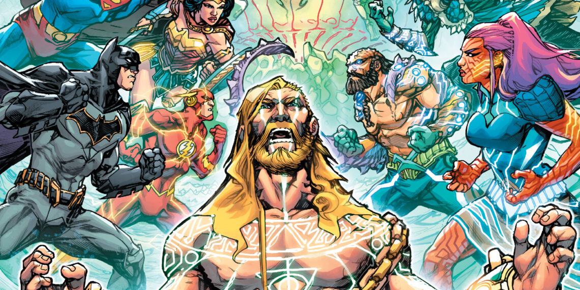 Justice League/Aquaman: Drowned Earth #1