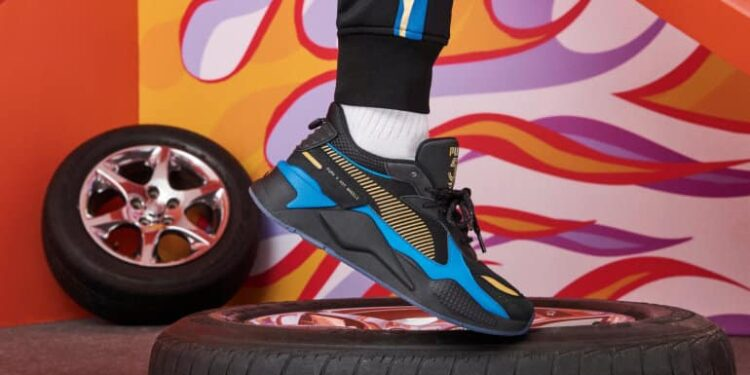 The PUMA X Hot Wheels RS-X Silhouette Unveiled