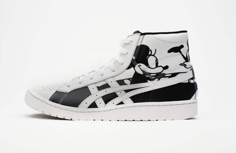 ASICSTIGER go Plane Crazy to celebrate Mickey's 90th Anniversary