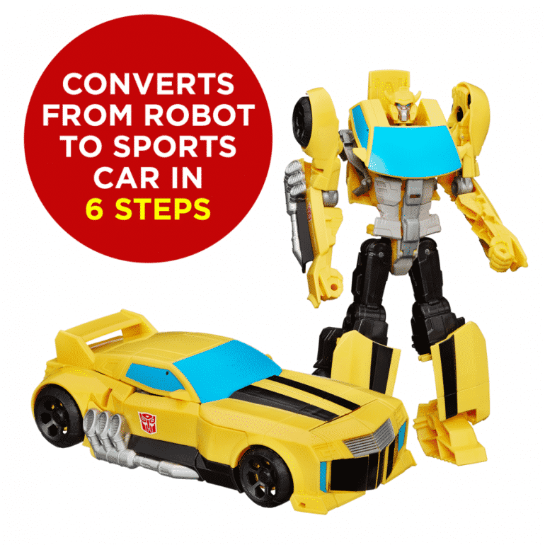 Win A Transformers (Bumblebee Or Optimus Prime) Toy