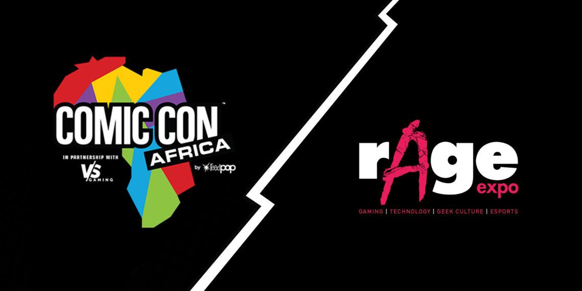 Comic Con Africa vs rAge