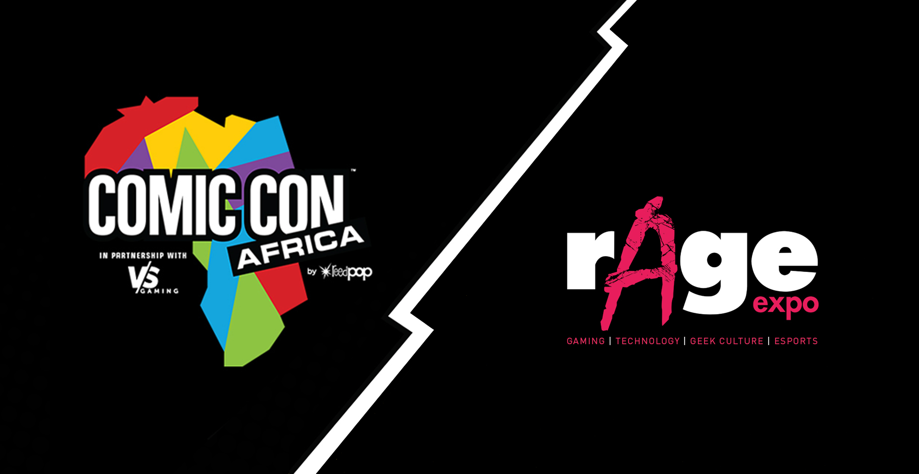 Comic Con Africa vs rAge