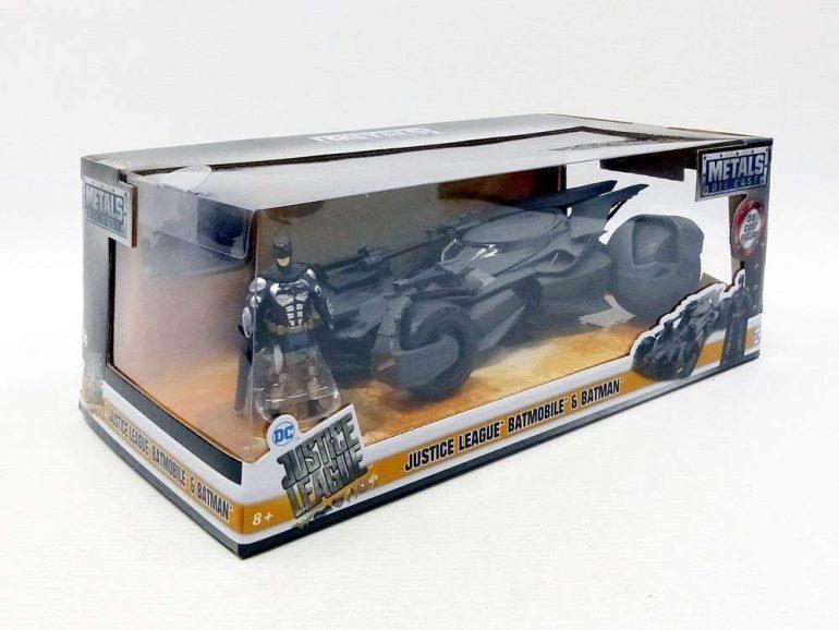 Die Cast Metals Justice League Batmobile Toy Review