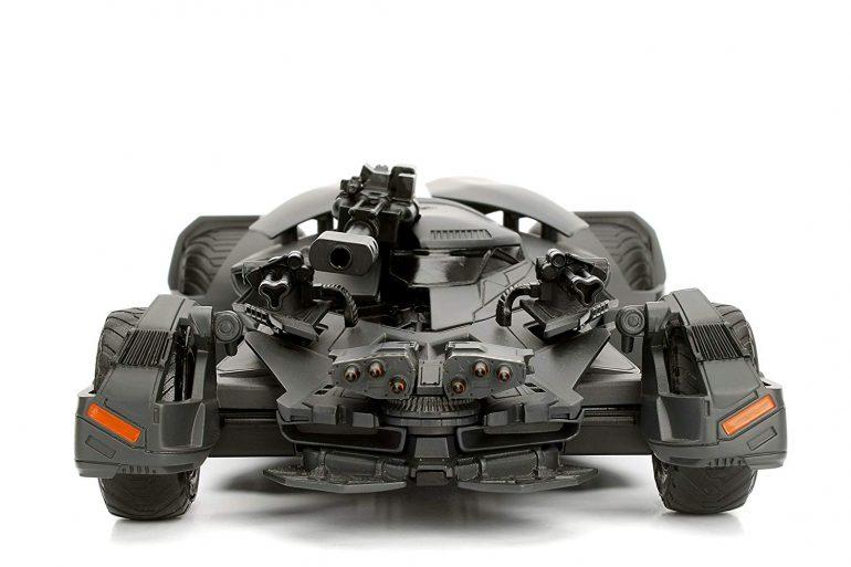 Metals Justice League Batmobile Toy Review