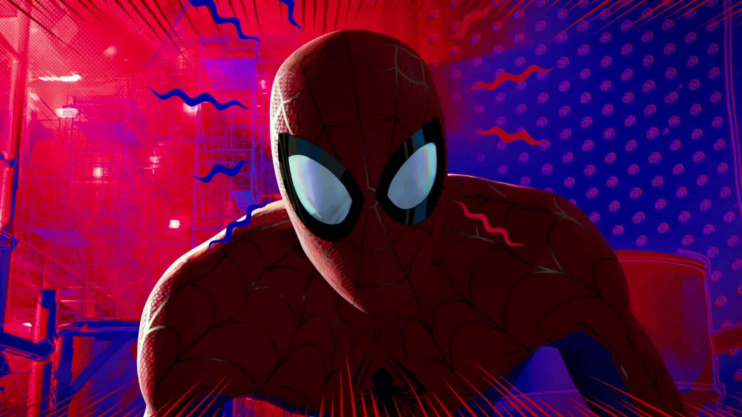 Spider man into the spider verse in theatres december 14 - New spiderman movie wallpaper ...