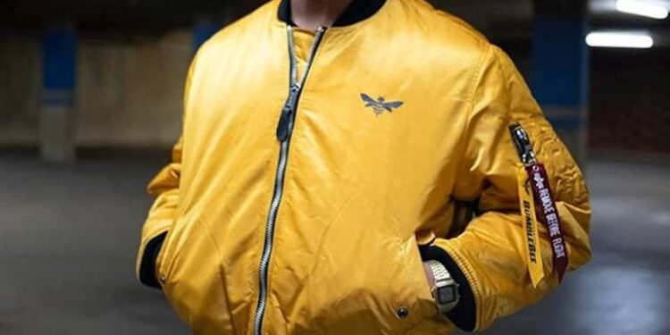 Hasbro And Alpha Industries Create Bumblebee MA-1 Flight Jacket