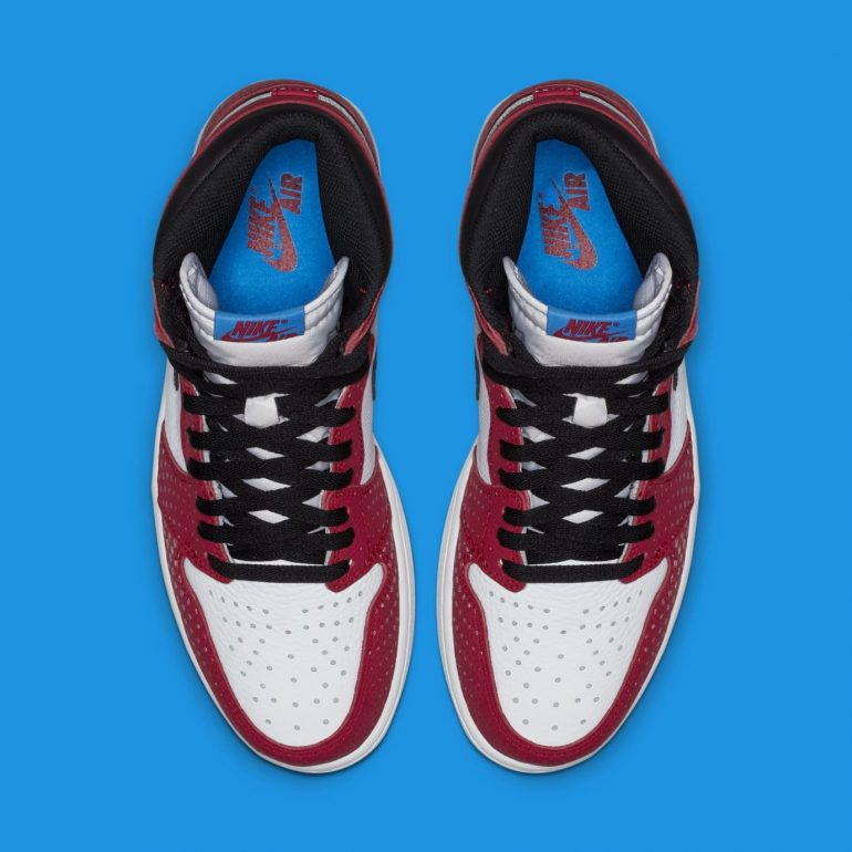 """Air Jordan 1 Retro High OG """"Origin Story"""" Nike Yes, You Can Own The Nike Spider-Man: Into The Spider-Verse Sneakers Sneakers"""