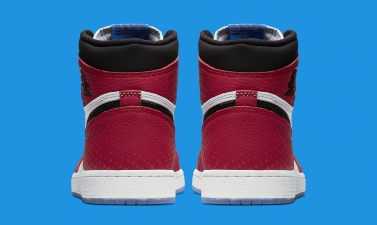 """Air Jordan 1 Retro High OG """"Origin Story"""" Spider Verse Yes, You Can Own The Nike Spider-Man: Into The Spider-Verse Sneakers Sneakers"""