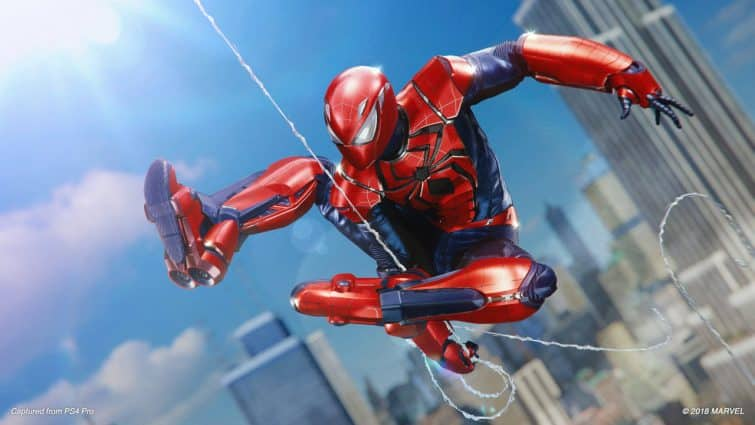 Silver Lining Spider-Man