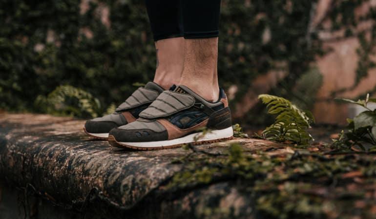 ASICSTIGER x Limited Edt x SBTG Drops Monsoon Patrol Sneaker