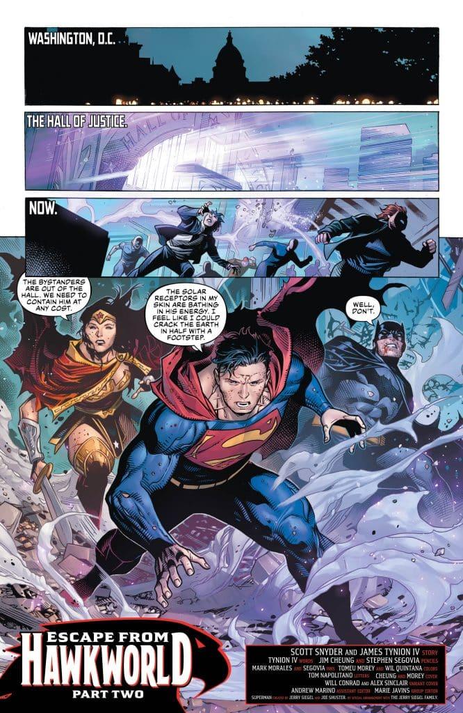 Justice League #15 Comic Book Review