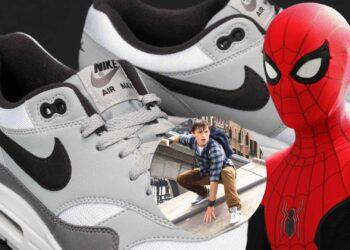 Peter Parker Wears Nike Air Max 1 Sneakers In Spider Man Far From Home 1 The Spider-Man: Far From Home Trailer Is Here Spider-Man: Far From Home