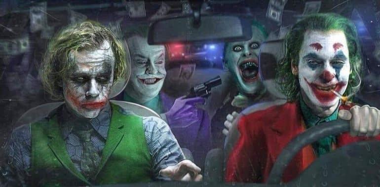 Joaquin Phoenix Joker Jared Leto Joker