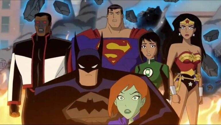 Justice League Vs The Fatal Five Trailer