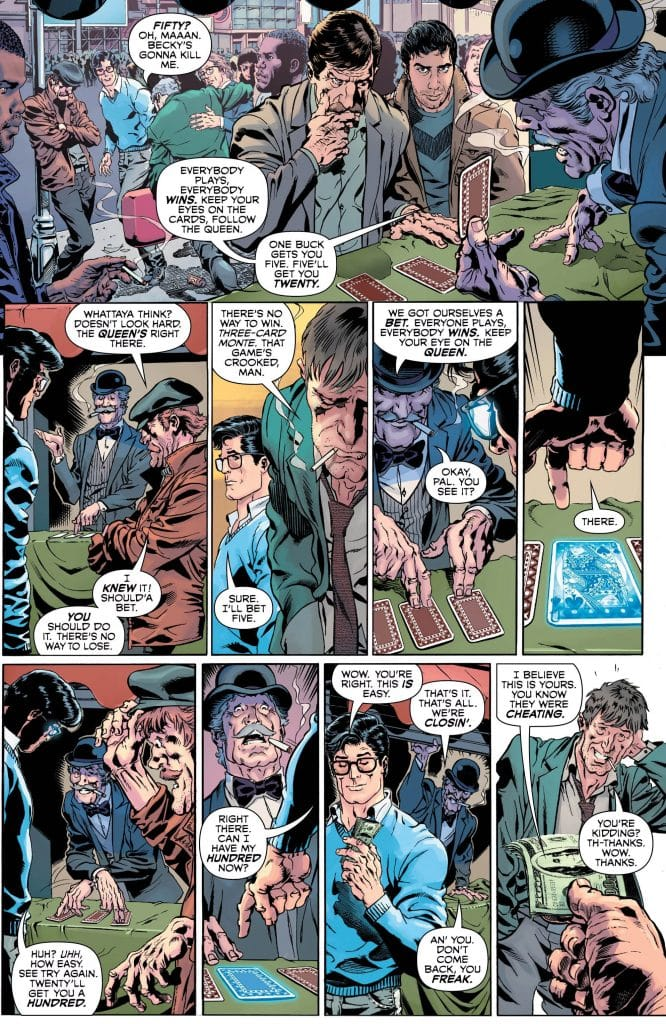 Man And Superman #1 Review