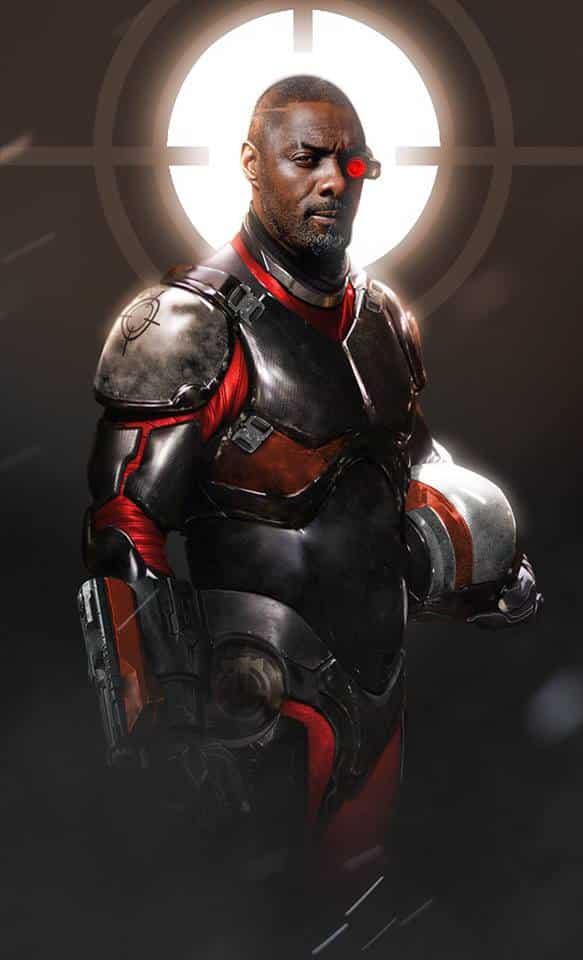 Idris Elba as Deadshot fan art via Boss Logic