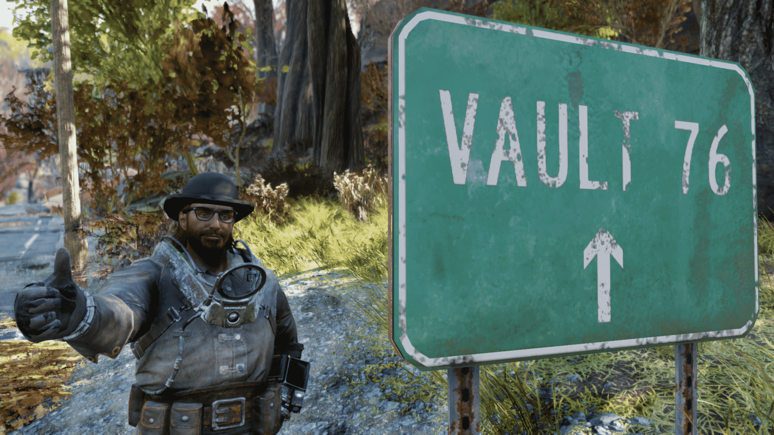Fallout Vault Sign