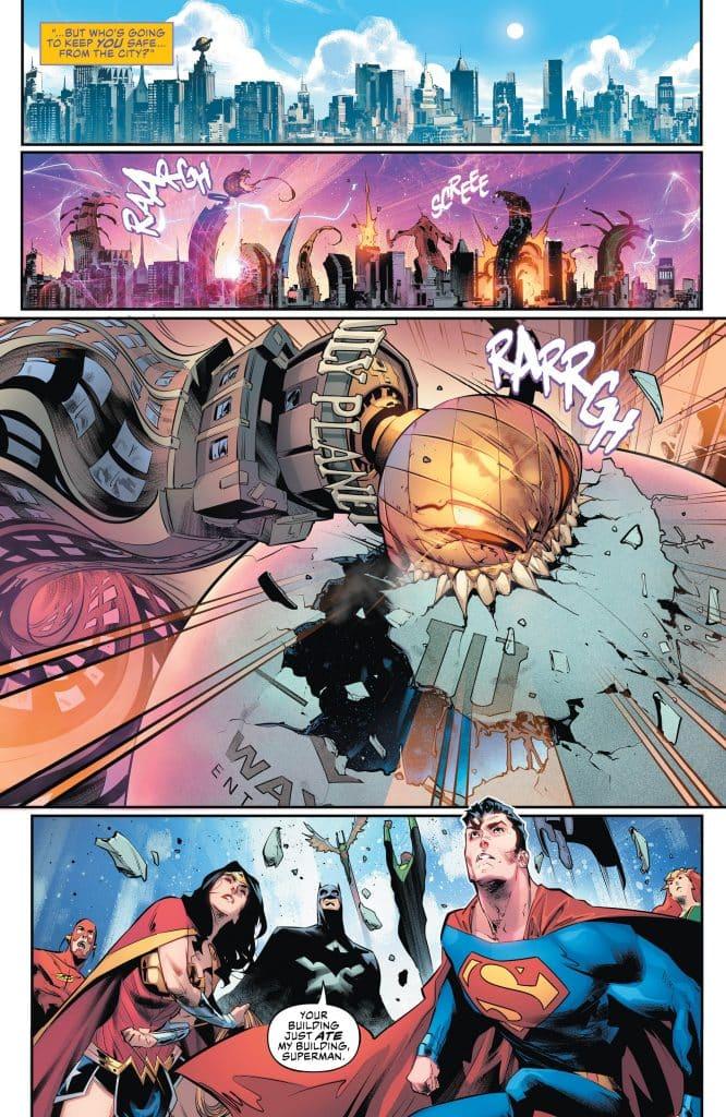 Justice League #19 Review Comic Book DC Comics