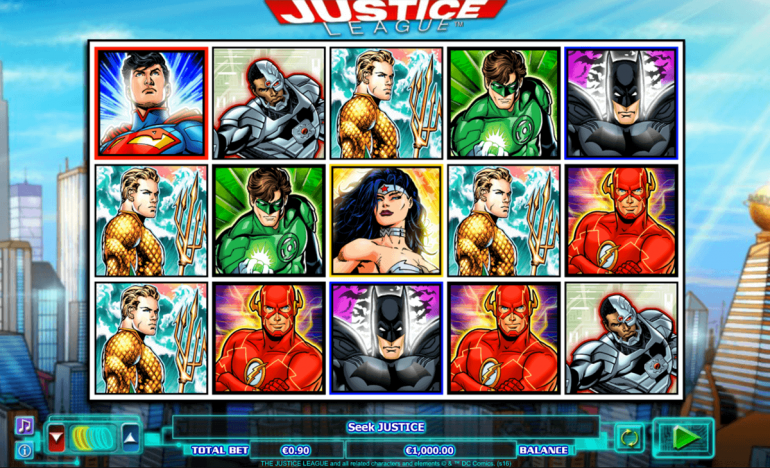 DC Comics-Inspired Casino Slots