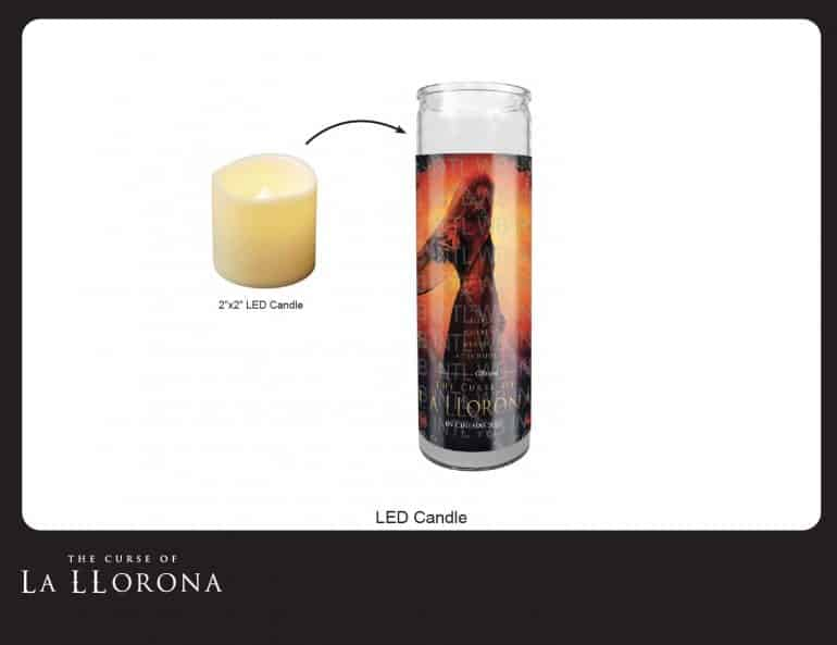 "LED Prayer Candle Win A Creepy ""The Curse of La Llorona"" Hamper Worth R1500 - CLOSED Competitions"