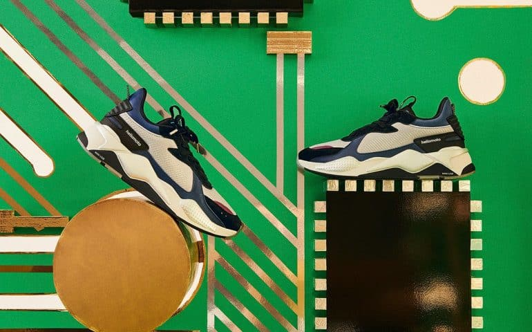 PUMA Announces New RS-X Collaboration With Motorola