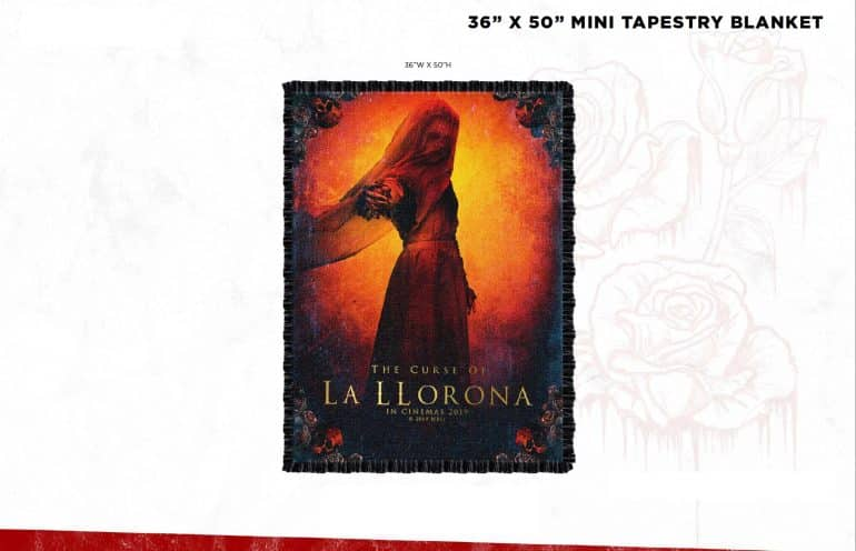 "Tapestry Blanket Win A Creepy ""The Curse of La Llorona"" Hamper Worth R1500 - CLOSED Competitions"
