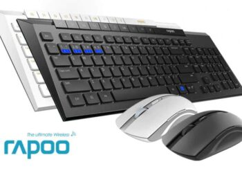 Rapoo 8200M Mouse and Keyboard Review – Wireless With Ease