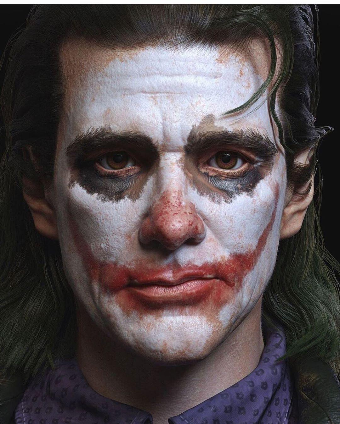 Jim Carrey Joker DC The batman