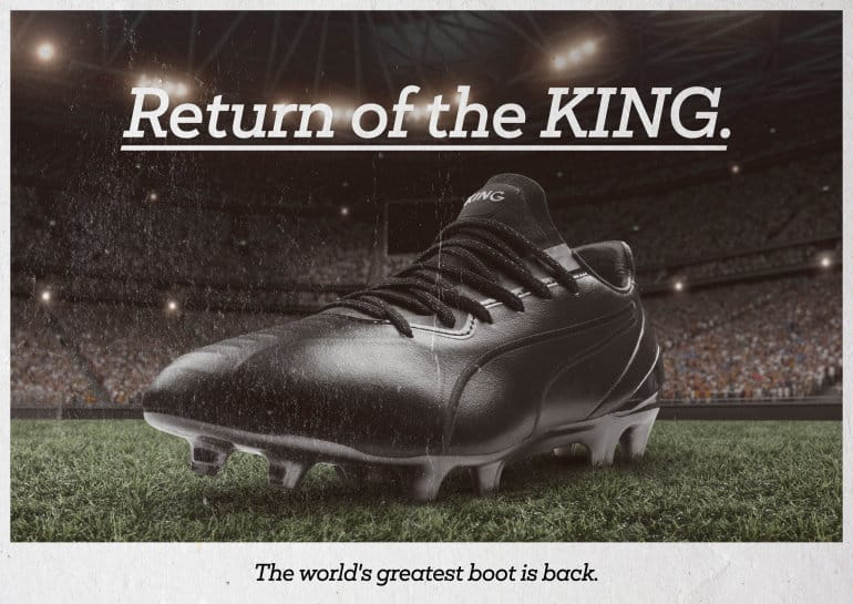 The King Returns - PUMA Celebrates Iconic Boots With King Platinum