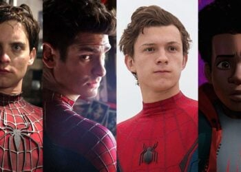 Spider-Man Tobey Tom Andrew Myles