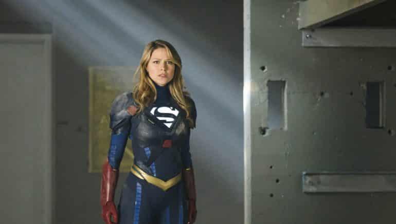 Melissa Benoist Supergirl Pants