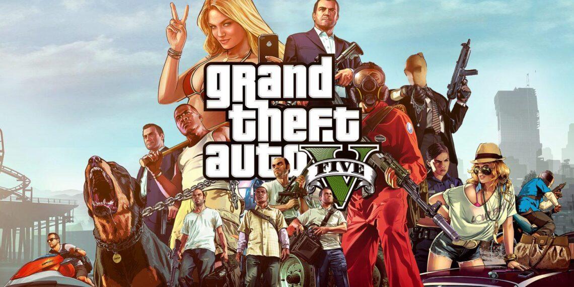 GTA V Grand Theft Auto Five