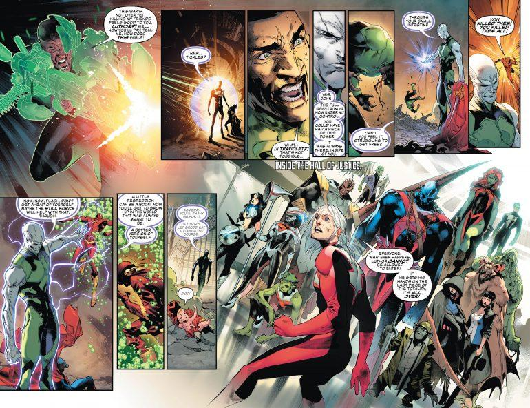 Justice League #30 Comic Book Review