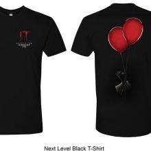 """Next Level Black T Shirt Win An Awesome """"IT: Chapter 2"""" Hamper Worth R2000 - CLOSED Competitions"""