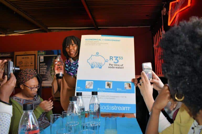SodaStream SA Launch Proudly South African Carbonated Bottle